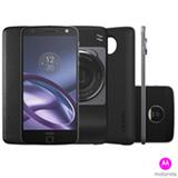 """Moto Z Hasselblad Motorola Preto com Tela de 5,5"""", 4G, 64 GB e Câmera de 13 MP - XT1650-02"""