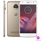 """Moto Z2 Play Ouro Motorola, com Tela de 5,5"""", 4G, 64 GB e Câmera de 12 MP - XT1710"""