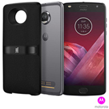 Moto Z2 Play New Sound Edition Platinum Motorola com Tela de 5,5', 4G, 64GB e Câmera de 12 MP - XT1710NS