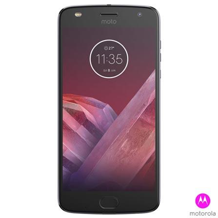 Moto Z2 Play New Sound Edition Platinum Motorola com Tela de 5,5
