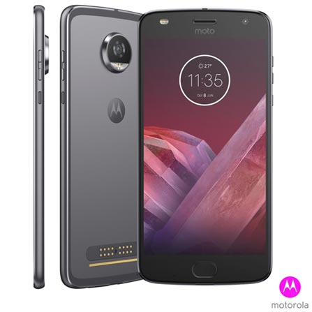 Moto Z2 Play Platinum Motorola com Tela de 5,5