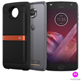 Moto Z2 Play Sound Edition Platinum Motorola com Tela de 5,5', 4G, 64GB e Câmera de 12 MP - XT1710S