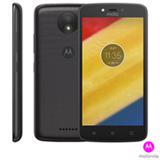 """Moto C Plus Preto Motorola com Tela de 5"""", 4G, 8 GB e Câmera de 8MP - XT1726"""