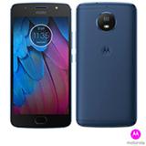 """Moto G5S Azul Safira Motorola com Tela de 5,2"""", 4G, 32 GB e Câmera de 16 MP - XT1792"""
