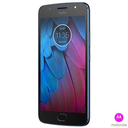 """Moto G5S Azul Safira Motorola com Tela de 5,2"""", 4G, 32 GB e Câmera de 16 MP - XT1792, Bivolt, Bivolt, Azul, 0000005.20, True, 1, N, True, True, True, True, True, True, I, Moto G5S, Nano Chip, Android, Wi-Fi + 4G, 5.2'', Acima de 4'', Snapdragon 430, 32 GB, 16.0 MP, 2, Não, Sim, Sim, Sim, Sim, 12 meses"""