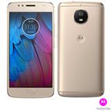 """Moto G5S Ouro Motorola com Tela de 5,2"""", 4G, 32 GB e Câmera de 16 MP - XT1792"""