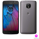 """Moto G5S Platinum Motorola com Tela de 5,2"""", 4G, 32 GB e Câmera de 16 MP - XT1792"""