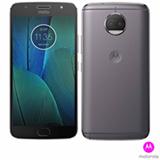 """Moto G5S Plus Platinum Motorola com Tela de 5,5"""", 4G, 32 GB e Câmera Dual de 13 MP + 13 MP - XT1802"""