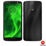 """Moto G6 Preto Motorola com Tela de 5,7"""", 4G, 64 GB e Câmera de 12MP + 5MP – XT19253"""
