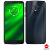 """Moto G6 Plus Índigo Motorola com Tela de 5,9"""", 4G, 64 GB e Câmera de 12 MP + 5 MP - XT1926-8"""