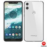 """Smartphone Motorola One Branco, com Tela de 5,9"""", 4G, 64 GB e Câmera de 13MP + 2MP - XT1941-3"""