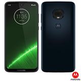 Moto G7 Plus Índigo Motorola com Tela de 6,24', 4G, 64GB e Câmera de 16 MP + 5 MP - XT1965-2