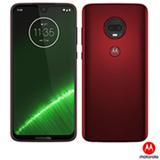 Moto G7 Plus Rubi Motorola com Tela de 6,24', 4G, 64GB e Câmera de 16 MP + 5 MP -  XT1965-2