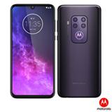 Moto One Zoom Violet Motorola, com Tela de 6,4', 4G, 128GB e Câmera Quad Pixel 48MP + 16MP + 8MP + 5MP - XT20101