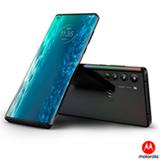 Smartphone Motorola Edge Solar Black, com Tela de 6,7', 5G, 128 GB e Câmera Quádrupla de 64MP+16MP+8MP+TOF - XT2063-3