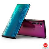 Smartphone Moto Edge Midnight Red, com Tela de 6,7', 5G, 128 GB e Câmera Quádrupla de 64MP+16MP+8MP+TOF - XT2063-3