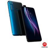 Smartphone Moto One Fusion+ Azul Indigo, com Tela de 6,5', 4G, 128GB e Câmera de 64 MP + 8 MP + 5 MP + 2 MP - XT2067-2