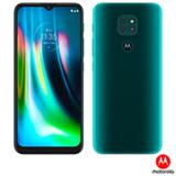 Smartphone Moto G9 Play Verde Turquesa, com Tela de 6,5', 4G, 64GB e Câmera de 48MP + 2MP + 2MP - XT2083-1