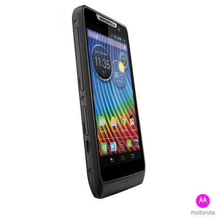 Smartphone Motorola RAZR D3 Preto Dual Chip, Bivolt, Bivolt, Preto, 0000004.00, True, 1, N, True, True, True, True, True, True, I, Android, Wi-Fi + 3G, Até 4'', Dual Core 1.2 GHz, 04 GB, 8.0 MP, 2, Não, Sim, Sim, Sim, Sim, 12 meses, Micro Chip
