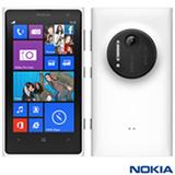Smartphone Nokia Lumia 1020 Branco com Windows Phone, Tela de 4,5, 4G e Wi-Fi