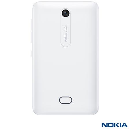 Celular Nokia Asha 501 Dual SIM Branco, Touchscreen, 2, 3.2 MP, Wi-Fi, Não, Sim, Sim, Branco, Até 4'', 3'', I