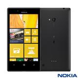 """Smartphone Nokia Lumia 720 Preto com Dual-core 1GHz, Windows Phone 8, 3G, Tela 4,3"""", Câmera Frontal 6,7 MP"""