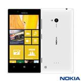 """Smartphone Nokia Lumia 720 Branco com 4,3"""", 3G, Windows Phone 8, Dual-Core 1 GHz, 08 GB e Câmera de 6.7 MP"""