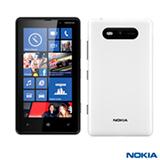 """Smartphone Nokia Lumia 820 com 4G, Tela Touch de 4.3"""", Câmera 8 MP, Bluetooth, Wi-Fi, Branco - 820"""