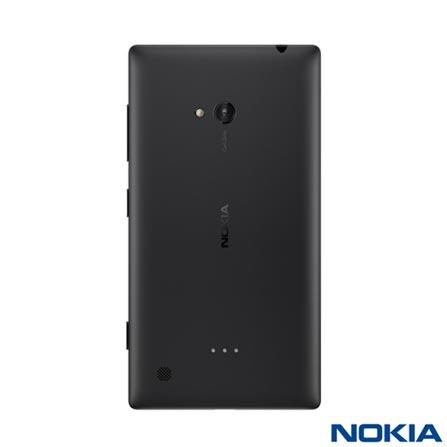 Smartphone Nokia Lumia 720 Preto com Tela 4,3