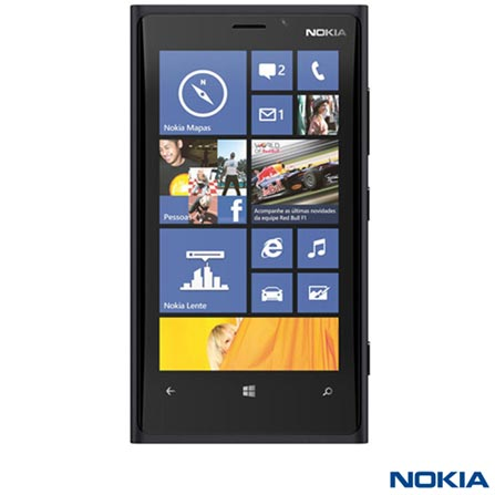 Smartphone Nokia Lumia 920 Preto com 4G+ Aparador Multigroom Barba, Cabelo e Pelos Philips, 6 em 1 Preto/Azul - QG3330, Windows Phone acima de 4'', 0