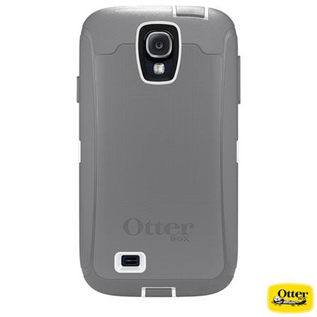 Capa Defender para Galaxy S4 em Policarbonato e TPU Cinza e Branca - Otter box - 7727437, Cinza e Branco, Policarbonato e TPU, 03 meses