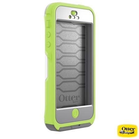 Capa Artscase para iPhone 5 a Prova d'água Preserver Verde e Branca Otterbox - OB7729472, Verde e Branco, 03 meses
