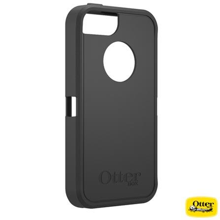 Capa para iPhone 5 e 5s Defender Preta - Otterbox - 7733322, Preto, Capas e Protetores, 03 meses