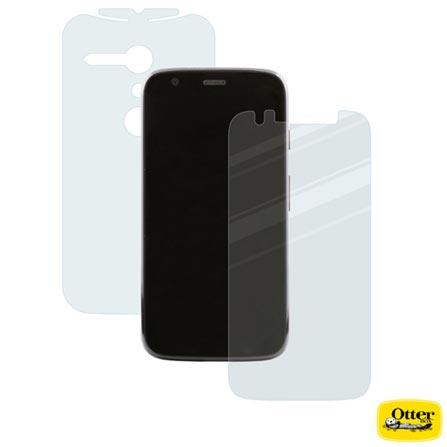 Película para Moto G de Plástico Transparente - Otterbox - 77-33732, Não se aplica, Plástico, 03 meses