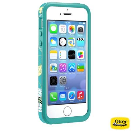Capa Symmetry para iPhone 5 e 5s Azul - OtterBox - 7737659, Azul, Capas e Protetores, 03 meses