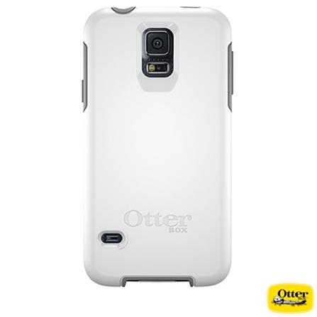 Capa Symmetry para Samsung Galaxy S5 Branca e Cinza - Otterbox - 7739971, Branco e Cinza, Capas e Protetores, Policarbonato, 03 meses
