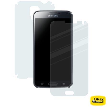 Película Galaxy S5 360 Frente e Verso Transparente - Otterbox - 7740381, Não se aplica, Policarbonato e TPU, 03 meses