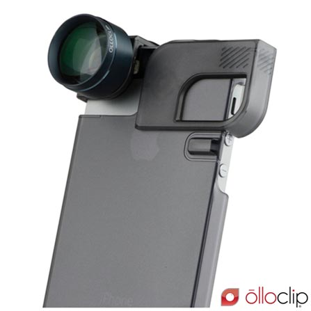 Lente para iPhone 5 e 5s Olloclip - OCEAFW2MBBB, Não se aplica