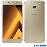 """Samsung Galaxy A5 2017 Dourado, com Tela de 5,2"""", 4G, 32 GB e Câmera de 16 MP - SM-A520F"""