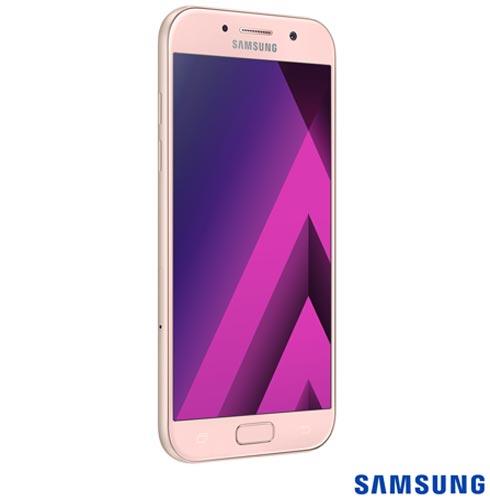 """Samsung Galaxy A5 2017 Rosa, com Tela de 5,2"""", 4G, 32 GB e Câmera de 16 MP - SM-A520F, Bivolt, Bivolt, Rosa, 0000005.20, True, 1, N, True, True, True, True, True, True, I, Galaxy A5, Android, Wi-Fi + 4G, 5.2'', Acima de 4'', Sim, Octa Core, 32 GB, 16.0 MP, 2, Não, Sim, Sim, Sim, Sim, 12 meses, Nano Chip"""