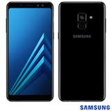 """Samsung Galaxy A8 Preto, com Tela de 5,6"""", 4G, 64 GB e Câmera de 16 MP - SM-A530FZKKZTO"""