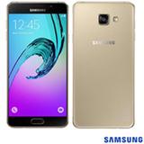 """Samsung Galaxy A7 Dourado, com Tela de 5.5"""", 4G, 16 GB e Câmera de 13 MP - SM-A710M"""
