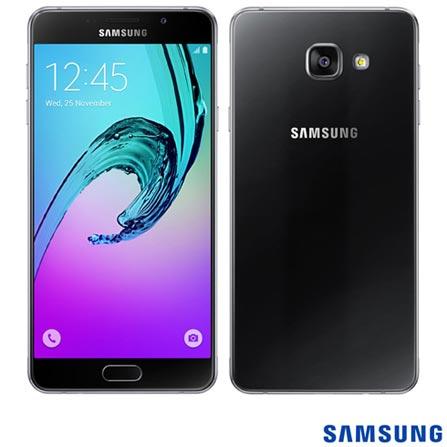 """Samsung Galaxy A7 Preto, com Tela de 5.5"""", 4G, 16 GB e Câmera de 13 MP - SM-A710M, Preto, 0000005.50, True, 1, N, True, True, True, True, True, True, I, Galaxy A7 Duos, Android, Wi-Fi + 4G, 5.5'', Acima de 4'', Sim, Octa Core, 16 GB, 13.0 MP, 2, Não, Sim, Sim, Sim, Sim, 12 meses, Nano Chip"""