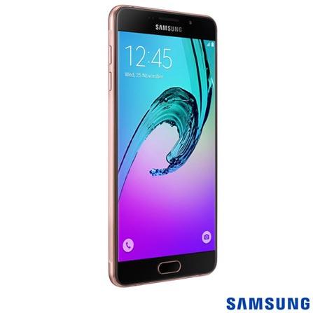 """Samsung Galaxy A7 Rosê Samsung, com Tela de 5.5"""", 4G, 16 GB e Câmera de 13 MP - SM-A710M, Rosa, 0000005.50, True, 1, N, True, True, True, True, True, True, I, Galaxy A7 Duos, Android, Wi-Fi + 4G, 5.5'', Acima de 4'', Sim, Octa Core, 16 GB, 13.0 MP, 2, Não, Sim, Sim, Sim, Sim, 12 meses, Nano Chip"""
