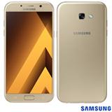 """Samsung Galaxy A7 2017 Dourado, com Tela de 5,7"""", 4G, 32 GB e Câmera de 16 MP - SM-A720F"""