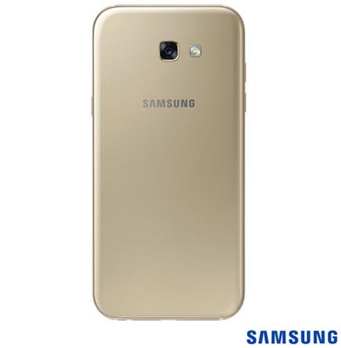 """Samsung Galaxy A7 2017 Dourado, com Tela de 5,7"""", 4G, 32 GB e Câmera de 16 MP - SM-A720F, Bivolt, Bivolt, Dourado, 0000005.70, True, 1, N, True, True, True, True, True, True, I, Galaxy A7, Android, Wi-Fi + 4G, 5.7'', Acima de 4'', Sim, Octa Core, 32 GB, 16.0 MP, 2, Não, Sim, Sim, Sim, Sim, 12 meses, Nano Chip"""