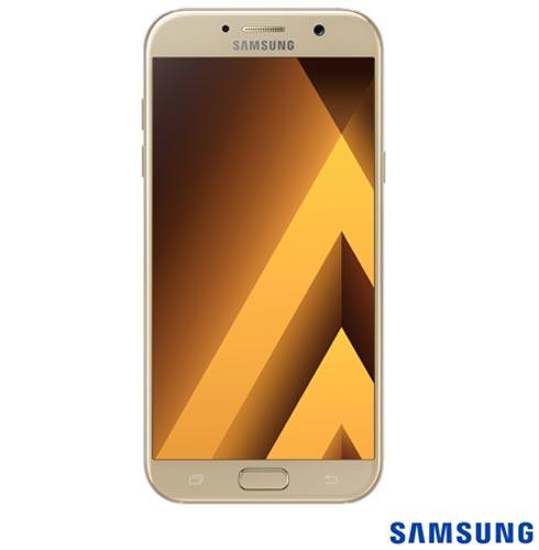 """Samsung Galaxy A7 2017 Dourado, com Tela de 5.7"""", 4G, 32 GB e Câmera de 16 MP - SM-A720F, Bivolt, Bivolt, Dourado, 0000005.70, True, 1, N, True, True, True, True, True, True, I, Galaxy A7, Android, Wi-Fi + 4G, 5.7'', Acima de 4'', Sim, Octa Core, 32 GB, 16.0 MP, 2, Não, Sim, Sim, Sim, Sim, 12 meses, Nano Chip"""