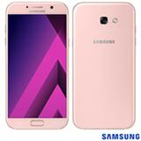 """Samsung Galaxy A7 2017 Rosa, com Tela de 5,7"""", 4G, 32 GB e Câmera de 16 MP - SM-A720F"""