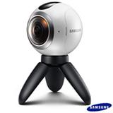 Câmera Samsung Gear 360, para Vídeos e Fotos em 360º, Branca - SM-C200NZWAZTO