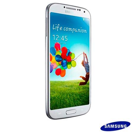 Smartphone Samsung Galaxy S4 Branco com 4G+Capa Flip Cover Samsung para Galaxy S4, Android acima de 4'', 0